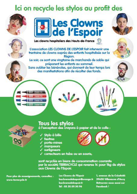 Recycler vos stylos usagés
