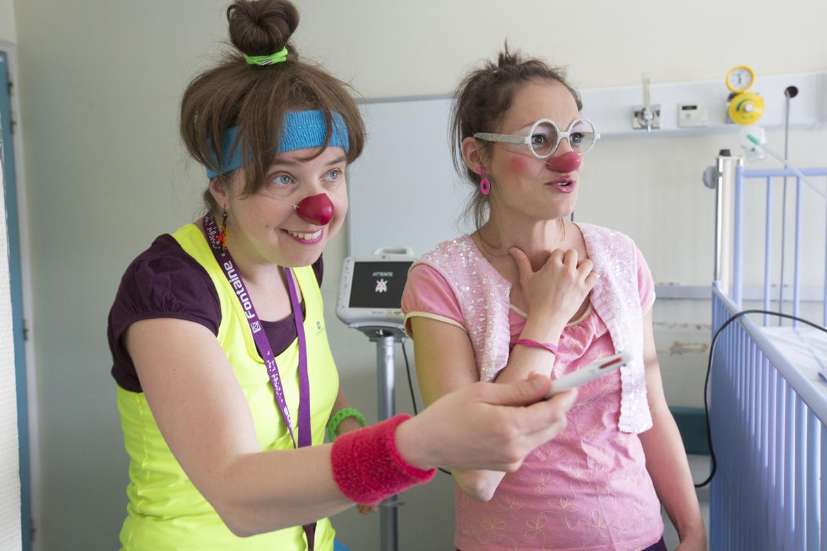 Photos Clowns Pluche et Suzette
