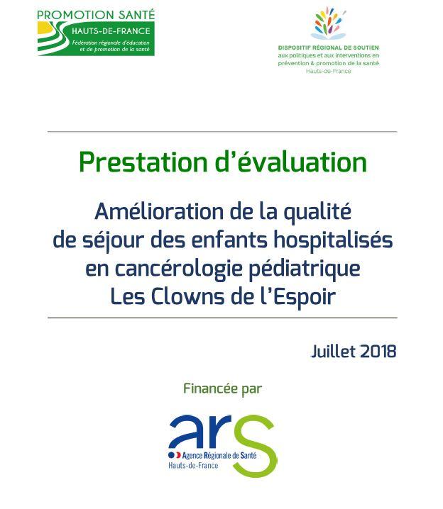 Evaluation de l ARS 2018